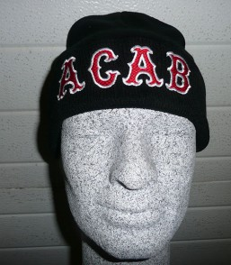 Black Beanie 'ACAB'