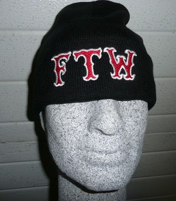 Black Beanie 'FTW'