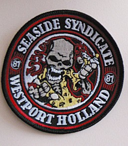 Embroidered patch Seaside syndicate