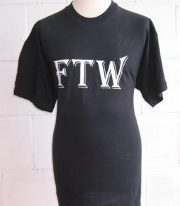 T-shirt FTW