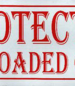 Protect by loaded guns